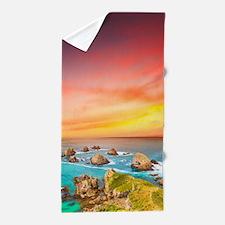 Ocean Sunset Beach Towel