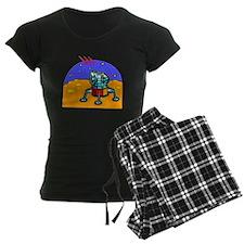 Cartoon Lunar Module Pajamas