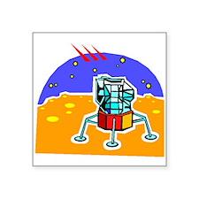 Cartoon Lunar Module Sticker