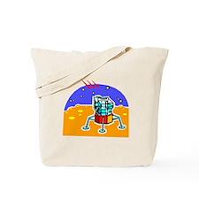 Cartoon Lunar Module Tote Bag