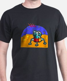Cartoon Lunar Module T-Shirt
