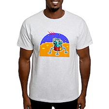 Cartoon Lunar Module T-Shirt