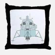 Lunar Module Throw Pillow