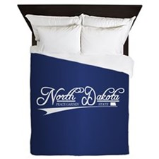 North Dakota State of Mine Queen Duvet