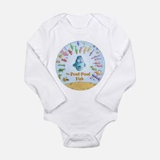 Cute Self centered Long Sleeve Infant Bodysuit