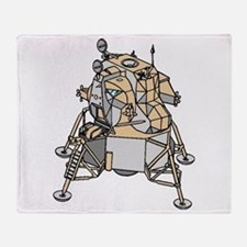 Lunar Module Throw Blanket