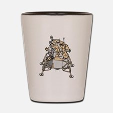 Lunar Module Shot Glass