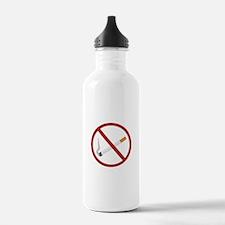 No Smoking Water Bottle