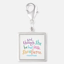 Shakespeare She Is Fierce quote Charms