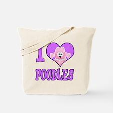 I Heart Love Poodles Cute Goofkins Animal Design T