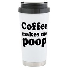 Cute Poop Travel Mug