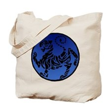 Shotokan Tiger on Dark Sky Tote Bag