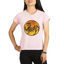 Shotokan Tiger on Golden S Performance Dry T-Shirt