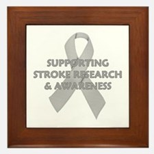 ...Stroke Research... Framed Tile