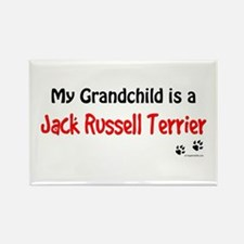 Jack Russell Grandchild Rectangle Magnet