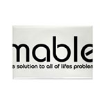 mable Rectangle Magnet (10 pack)