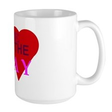 Love Is The Way Xena Mug