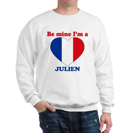 Julien, Valentine's Day Sweatshirt