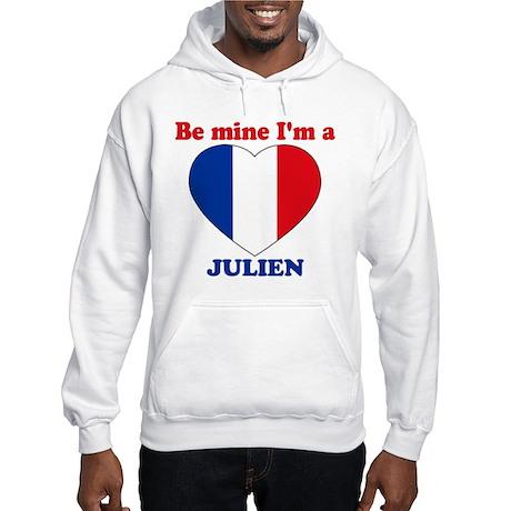 Julien, Valentine's Day Hooded Sweatshirt