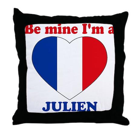 Julien, Valentine's Day Throw Pillow