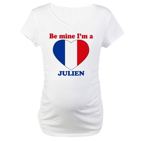 Julien, Valentine's Day Maternity T-Shirt