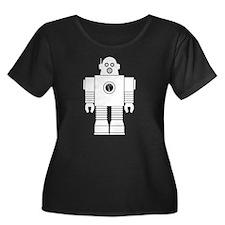 Robot 3 Plus Size T-Shirt