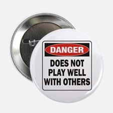 """Play Well 2.25"""" Button"""