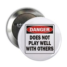 """Play Well 2.25"""" Button (10 pack)"""