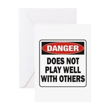 Play Well Greeting Card