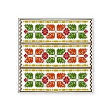 Menominee Leaves Sticker