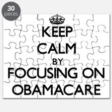 Keep Calm by focusing on Obamacare Puzzle