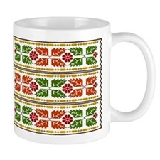 Menominee Leaves Mugs