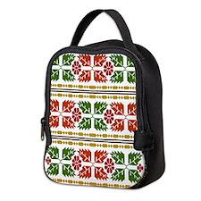 Menominee Leaves Neoprene Lunch Bag