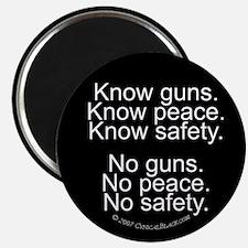 Know Guns Magnet