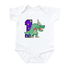 1st Birthday T-Rex Onesie
