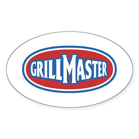 GrillMaster Sticker (Oval)