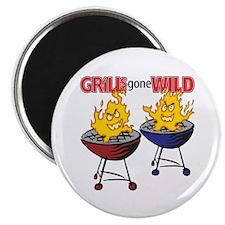 Grills Gone Wild<br> Magnet