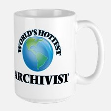 World's Hottest Archivist Mugs