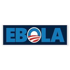 Obama Ebola Bumper Car Sticker