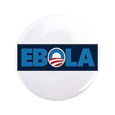 "Obama Ebola 3.5"" Button"