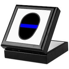 Blue Line LAPD Keepsake Box