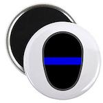 Blue Line LAPD Magnet