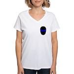 Blue Line LAPD Women's V-Neck T-Shirt