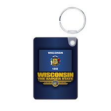 Wisconsin (v15) Keychains