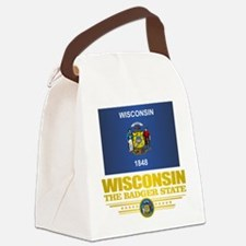 Wisconsin (v15) Canvas Lunch Bag