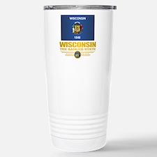 Wisconsin (v15) Travel Mug