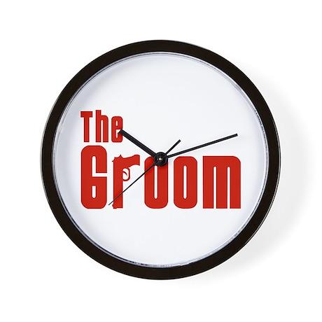 The Groom (Mafia) Wall Clock