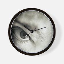 Funny Macro Wall Clock