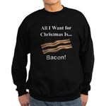 Christmas Bacon Sweatshirt (dark)