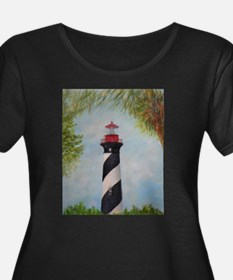 LIGHTHOUSE OF ST. AUGUSTINE, FLORIDA Plus Size T-S